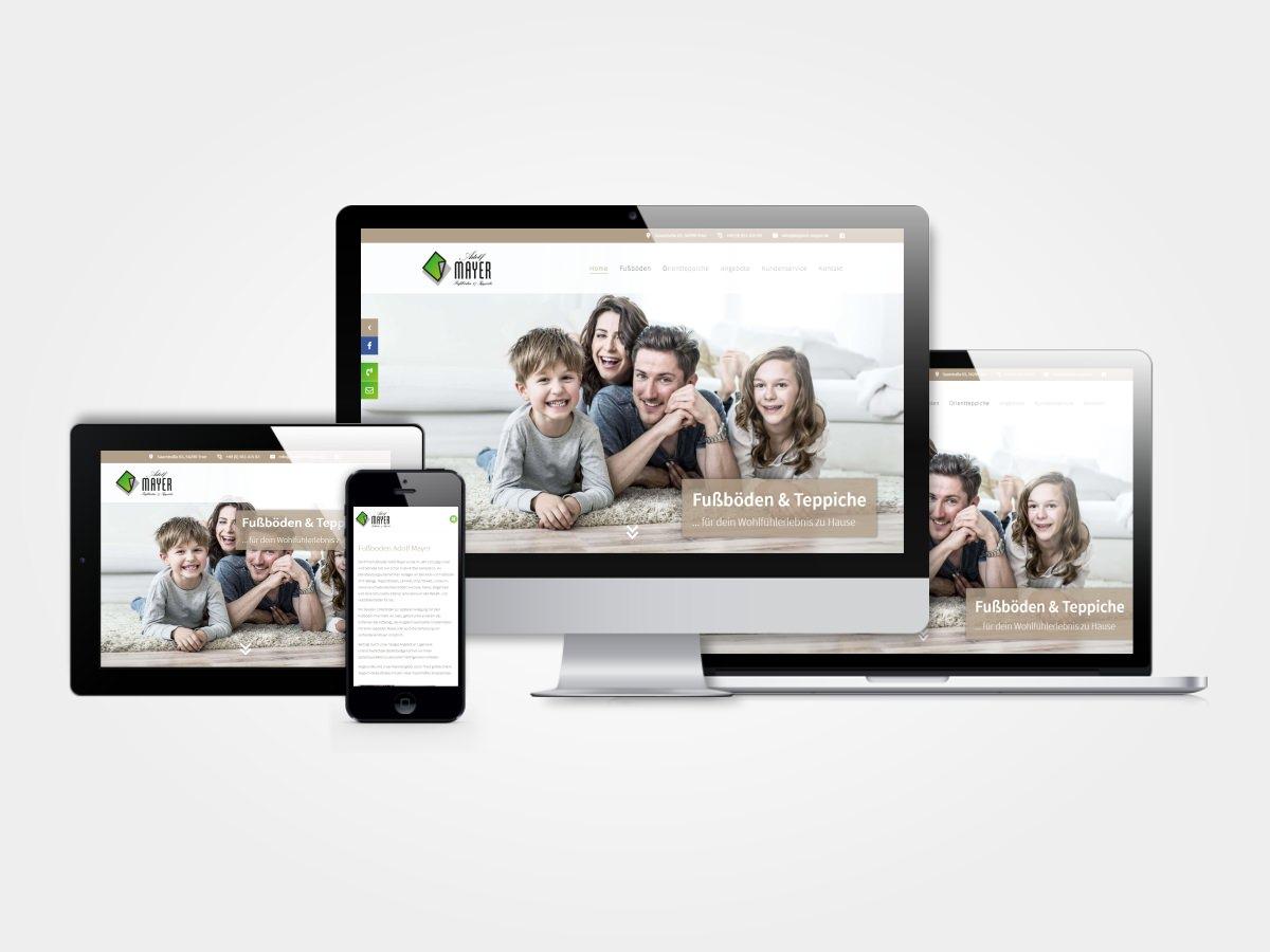 Teppich Mayer - Relaunch